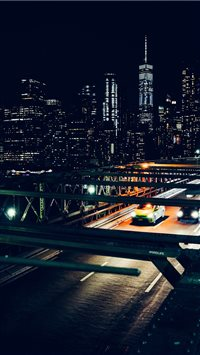 Brooklyn Bridge  New York  United States iPhone 6(s)~8(s) wallpaper