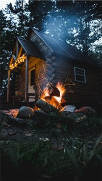 Cabin in the Woods iPhone 6(s)~8(s) wallpaper