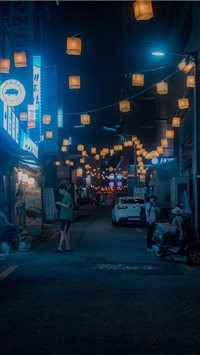 Lantern Alley iPhone 6(s)~8(s) wallpaper