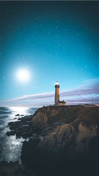 Pigeon Point Lighthouse  Pescadero  United States iPhone 6(s)~8(s) wallpaper