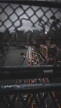 Manhattan Bridge  New York  United States iPhone 6(s)~8(s) wallpaper