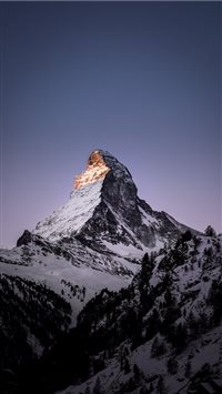 Matterhorn  Zermatt  Switzerland iPhone 6(s)~8(s) wallpaper