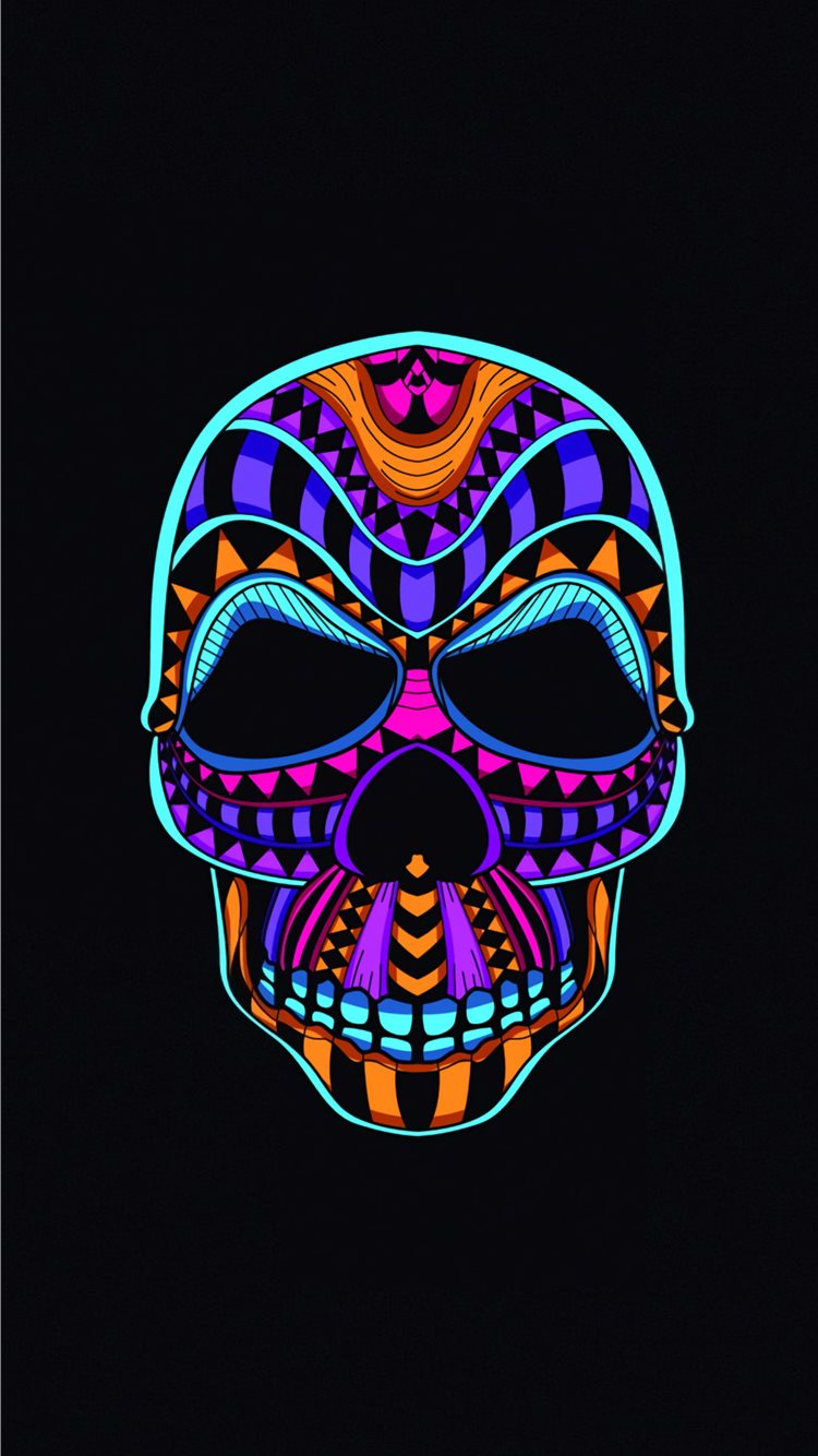 Best Skull Iphone 8 Wallpapers Hd Ilikewallpaper