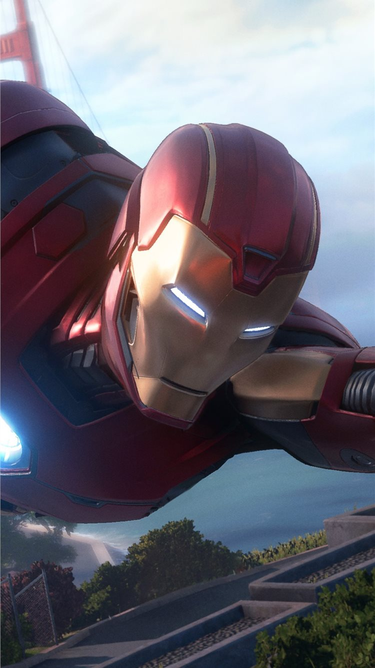 Marvel Avengers Iron Man Iphone 8 Wallpapers Free Download