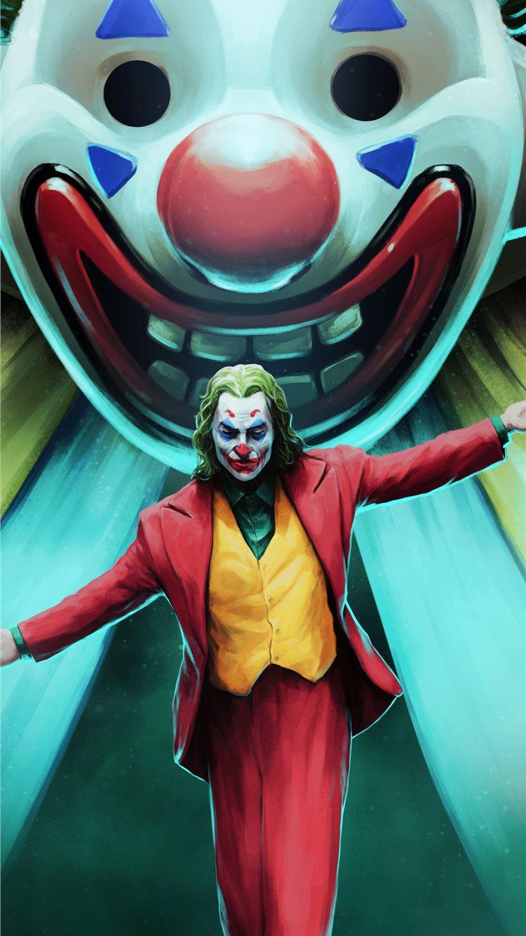 Joker Movie Art Iphone 8 Wallpapers Free Download