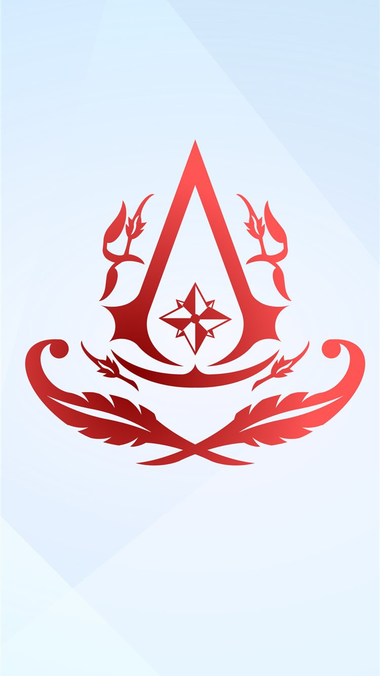 assassins creed 4k minimal logo 2020 iphone 8 wallpaper ilikewallpaper com