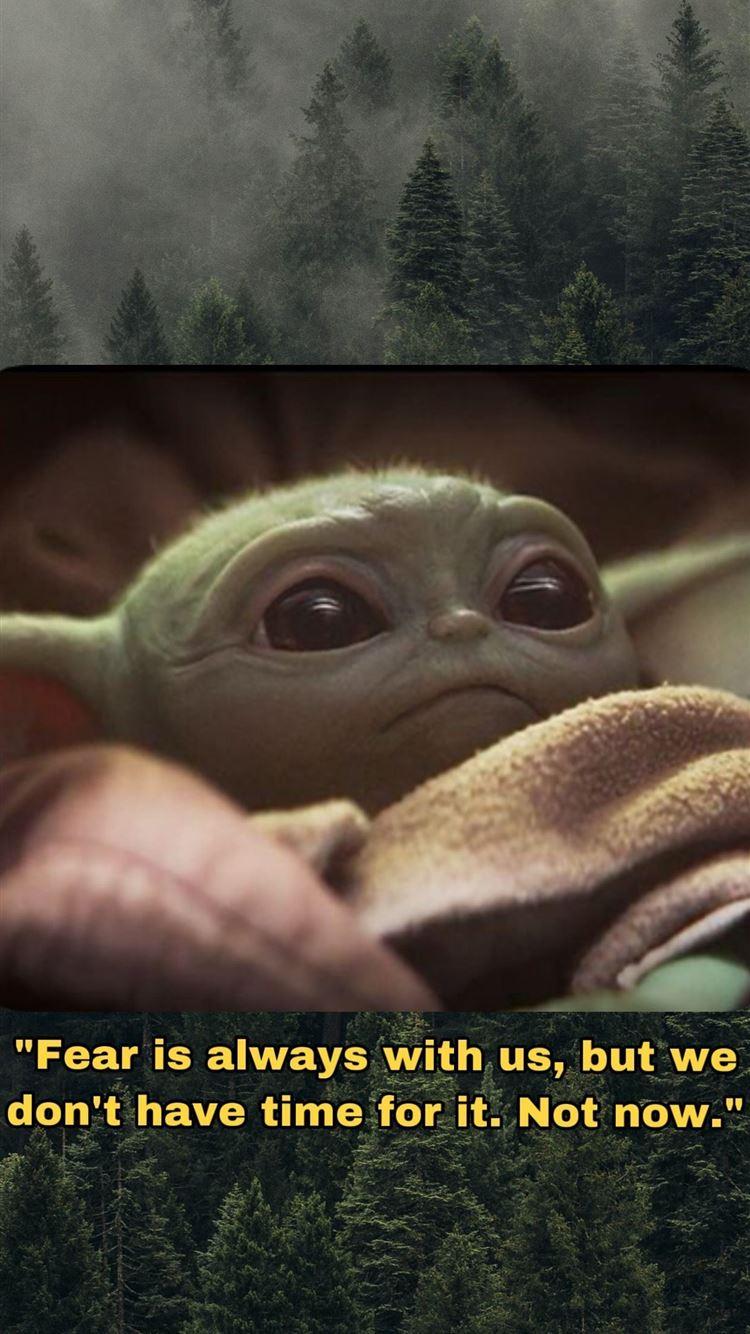 Cute baby yoda mandalorian 4K iPhone 8 ...