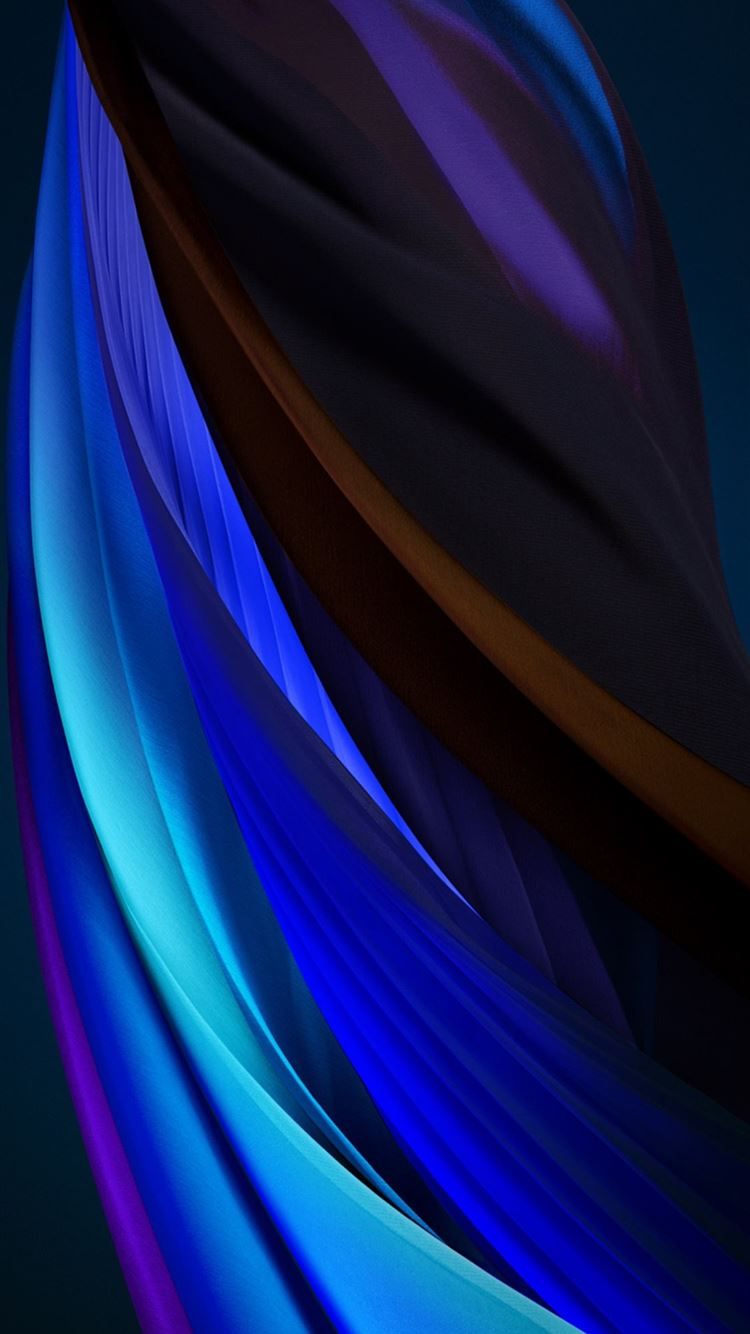 iphone se 2020 stock wallpaper Silk Blue Dark iPhone 8 wallpaper