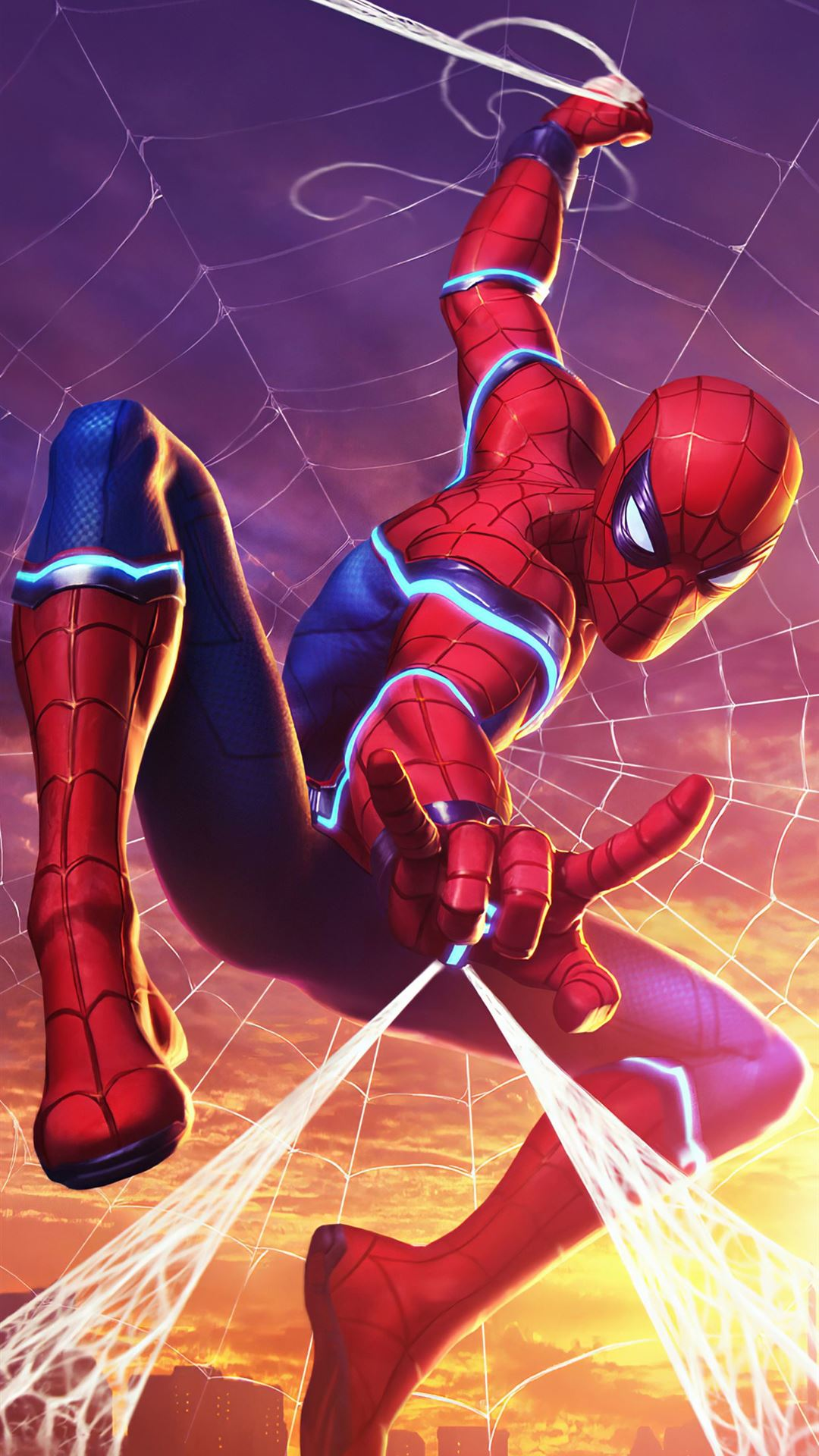spider man marvel contest of champions iPhone 8 wallpaper