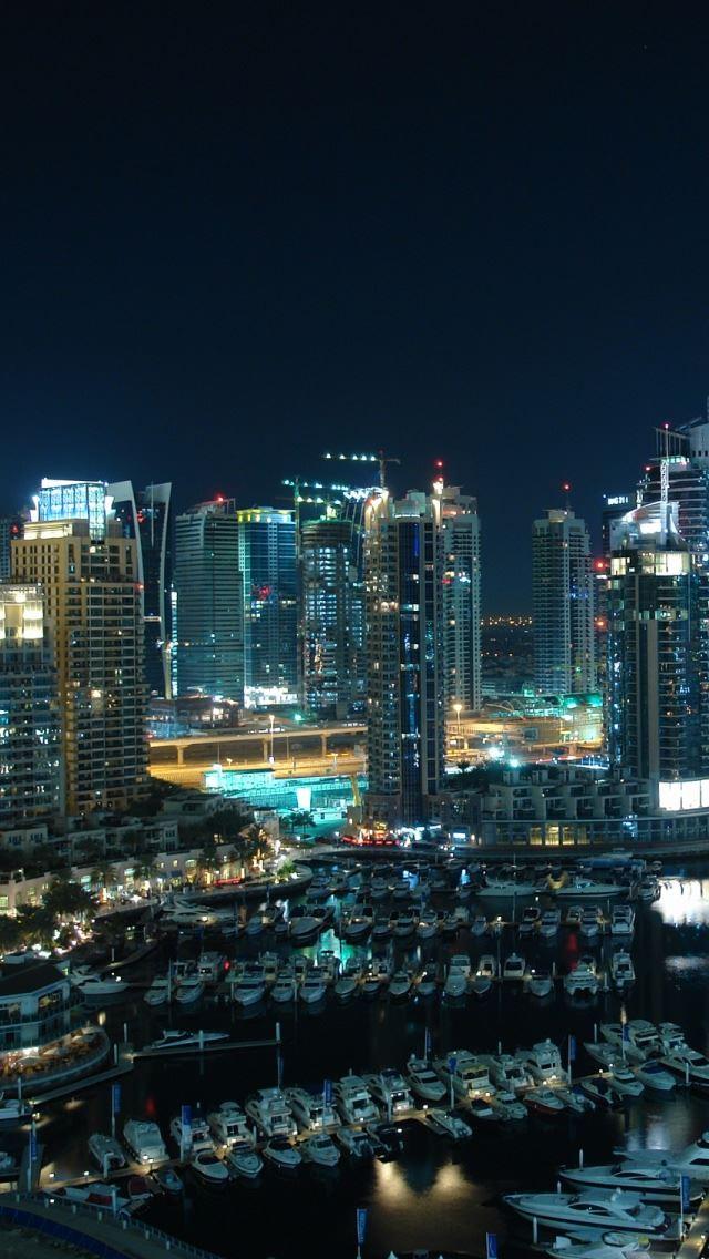 Amazing Dubai Marina IPhone Se Wallpaper