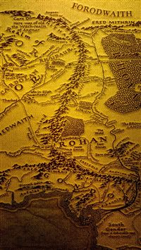 The Realm Of Middle Earth iPhone 5(s/c)~se wallpaper