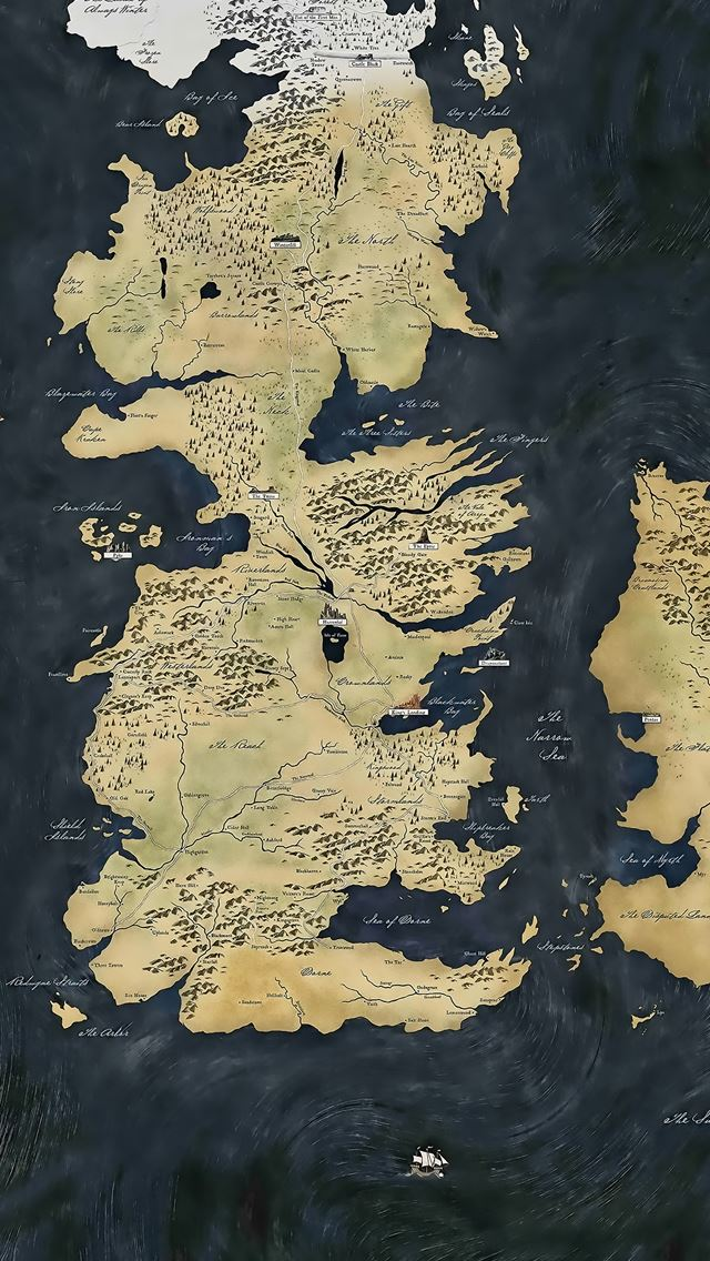 Map Game Of Thrones Iphone Se Wallpaper Download Iphone Wallpapers