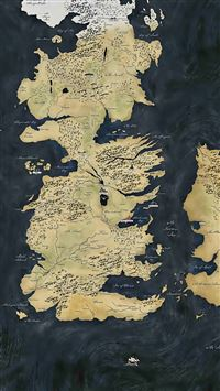 Map Game of Thrones iPhone 5(s/c)~se wallpaper