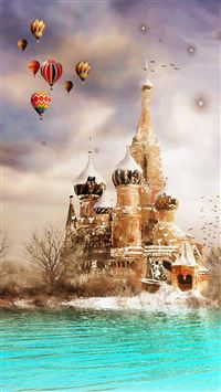 Moscow Dreamland iPhone 5(s/c)~se wallpaper