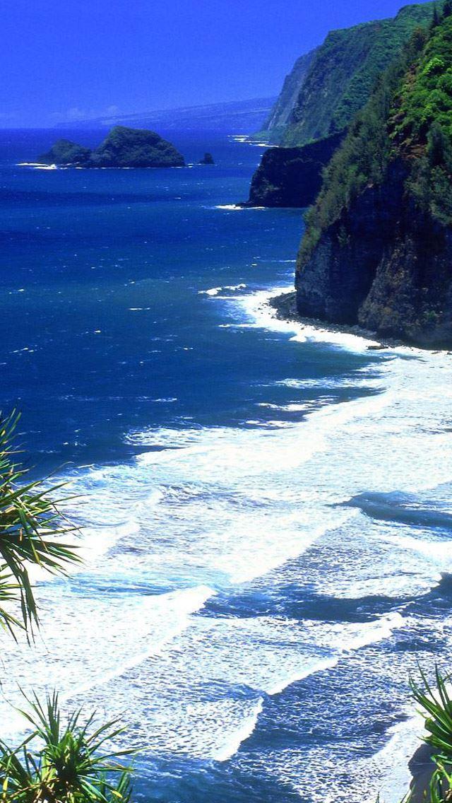 Hawaii Beach iPhone se Wallpaper Download | iPhone ...
