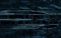 2275 1: Melting squares iPhone 5(s/c)~se wallpaper