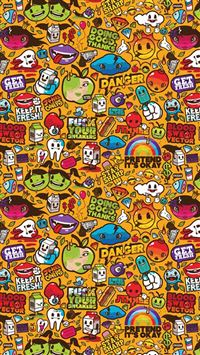 Cute cartoon collection iPhone 5(s/c)~se wallpaper