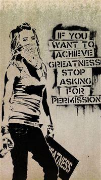 5472 32 Graffiti Slogan IPhone 5s Cse Wallpaper