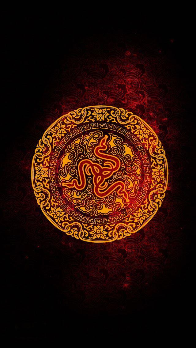 Snake Totem IPhone Se Wallpaper