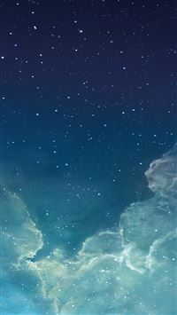 Starry night sky iPhone 5(s/c)~se wallpaper