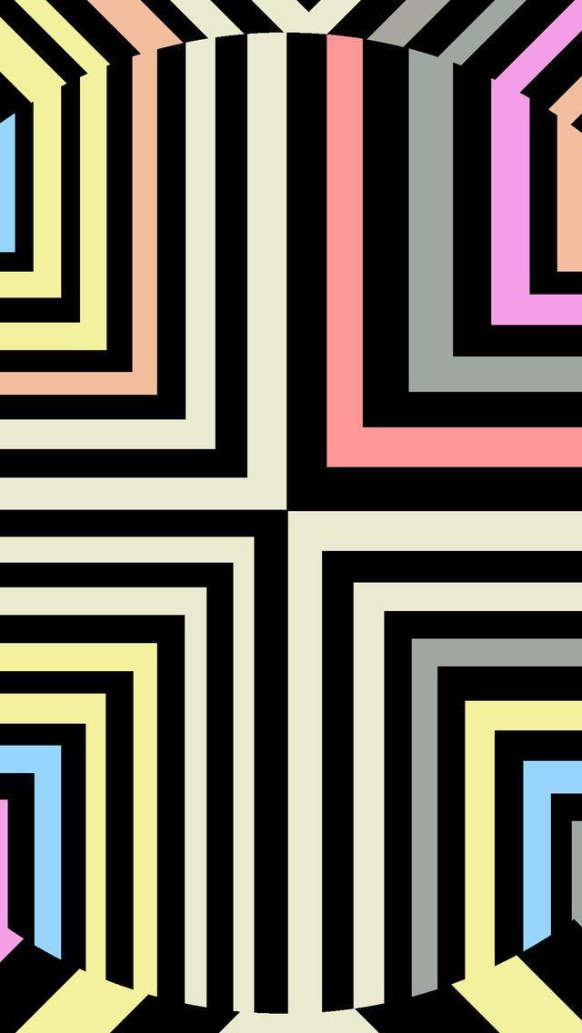 Optical Illusion IPhone Se Wallpaper