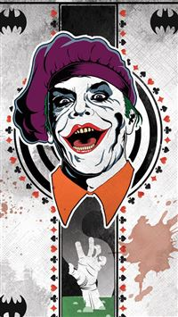 Joker Card iPhone 5(s/c)~se wallpaper