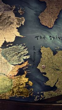 Westeros map iPhone 5(s/c)~se wallpaper