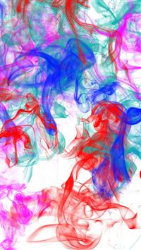 Smoke Patterns Lines Colorful iPhone 5(s/c)~se wallpaper