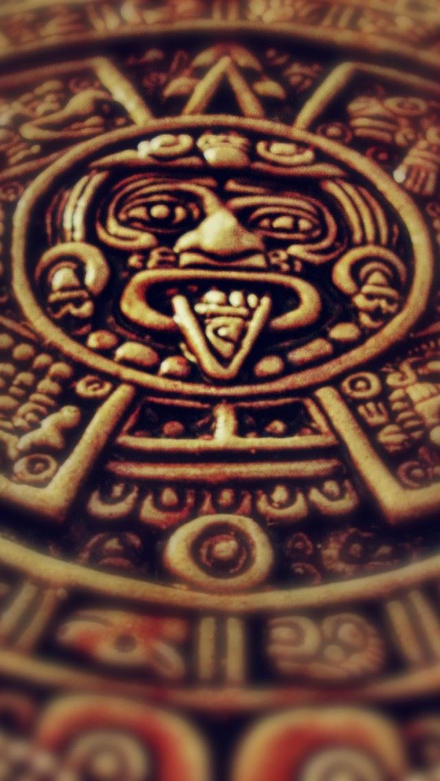 Mayan Clock Iphone Se Wallpaper Download Iphone Wallpapers