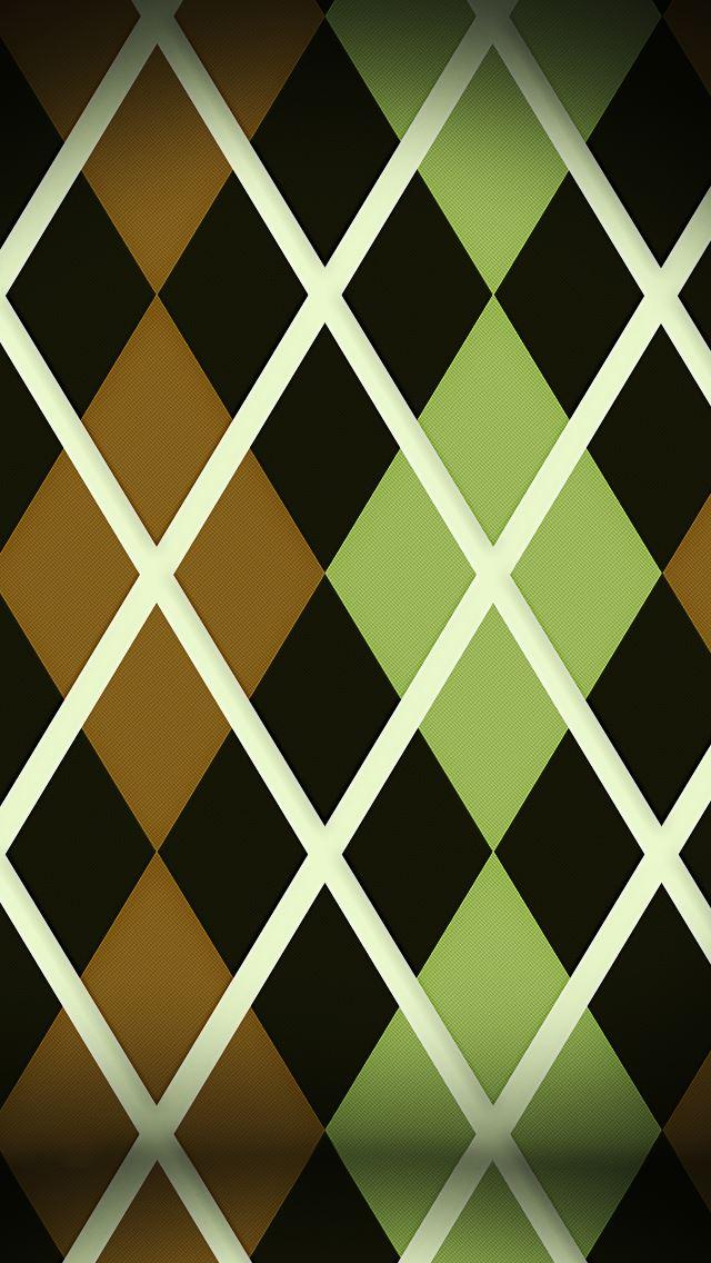 Argyle Pattern IPhone Se Wallpaper