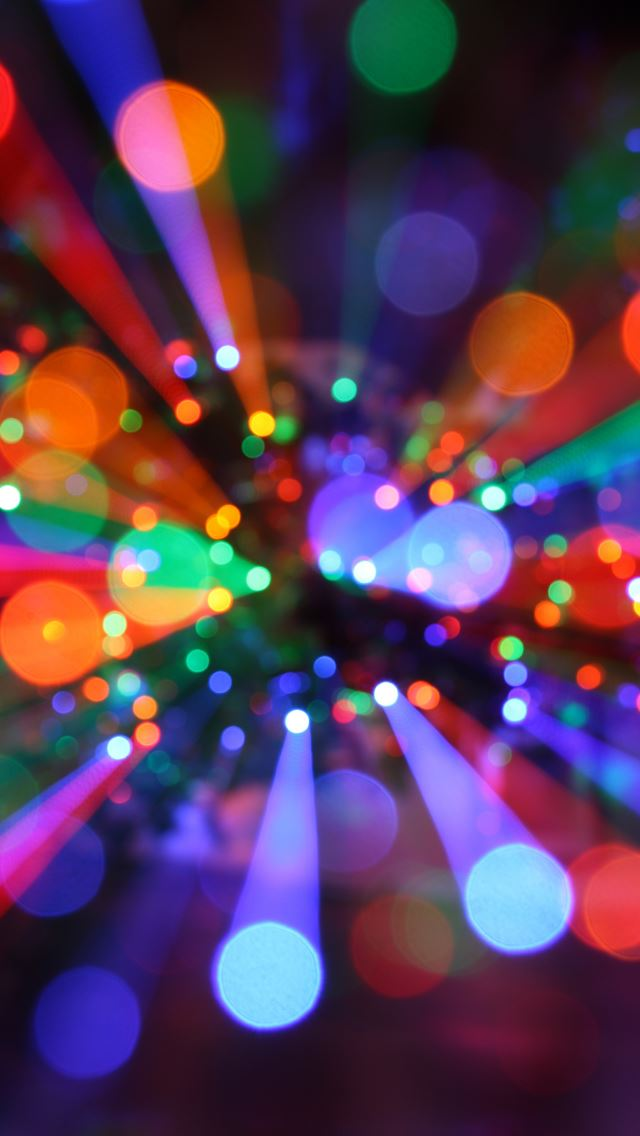 christmas lights iphone se wallpaper