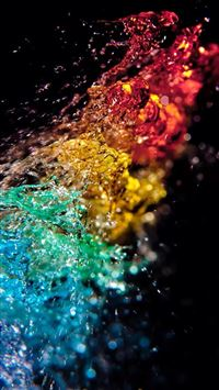 Color Fountain iPhone 5(s/c)~se wallpaper