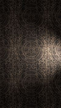 Gears pattern background iPhone 5(s/c)~se wallpaper