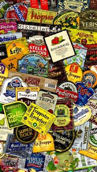 Beer Labels iPhone 5(s/c)~se wallpaper