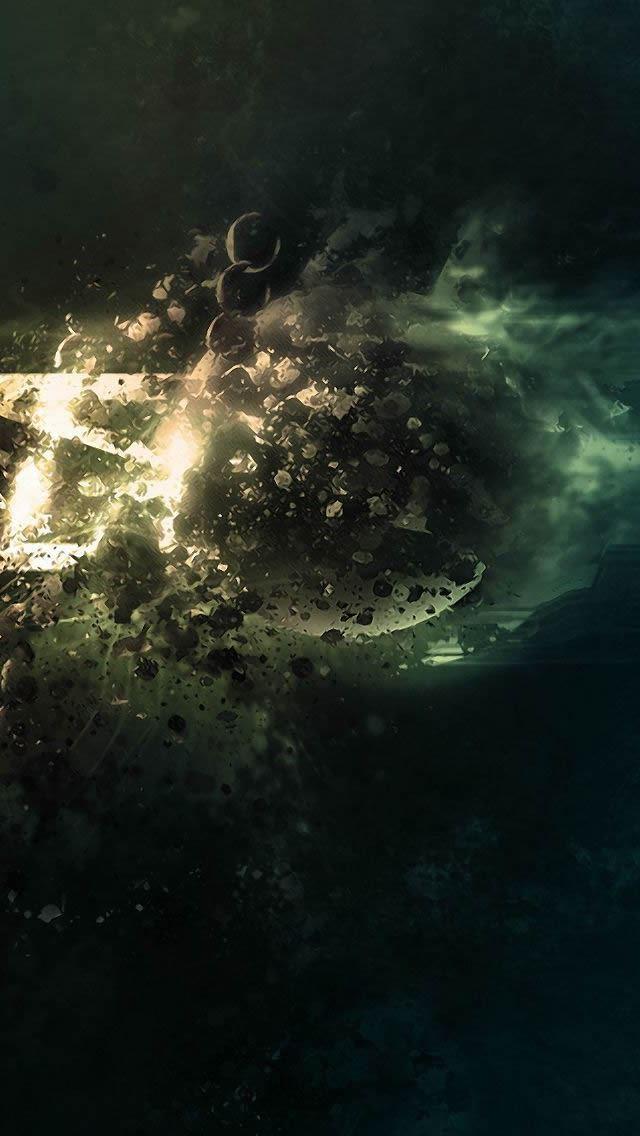 Planet Destruction Wallpaper