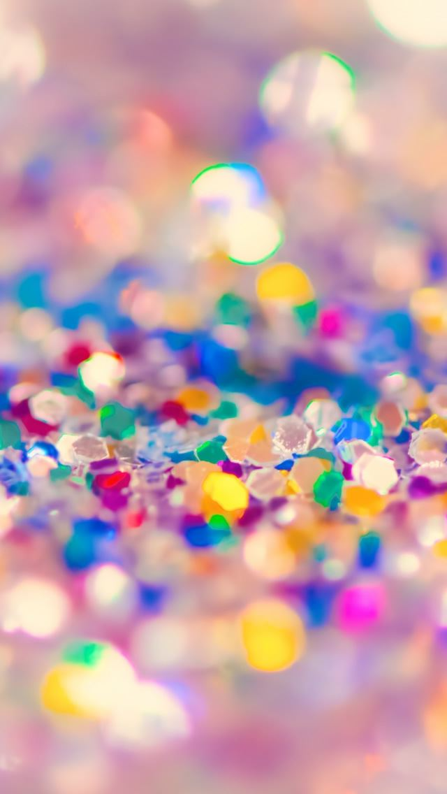 Colorful Glitter Iphone Se Wallpaper Download Iphone Wallpapers