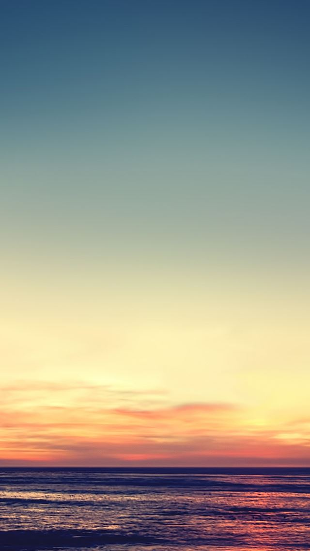 Tranquil Sunset IPhone Se Wallpaper