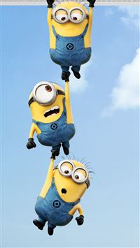 2013 Despicable Me 2 Minions iPhone 5(s/c)~se wallpaper