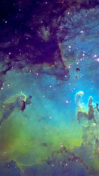 Fantasy Space Nebula  iPhone 5(s/c)~se wallpaper