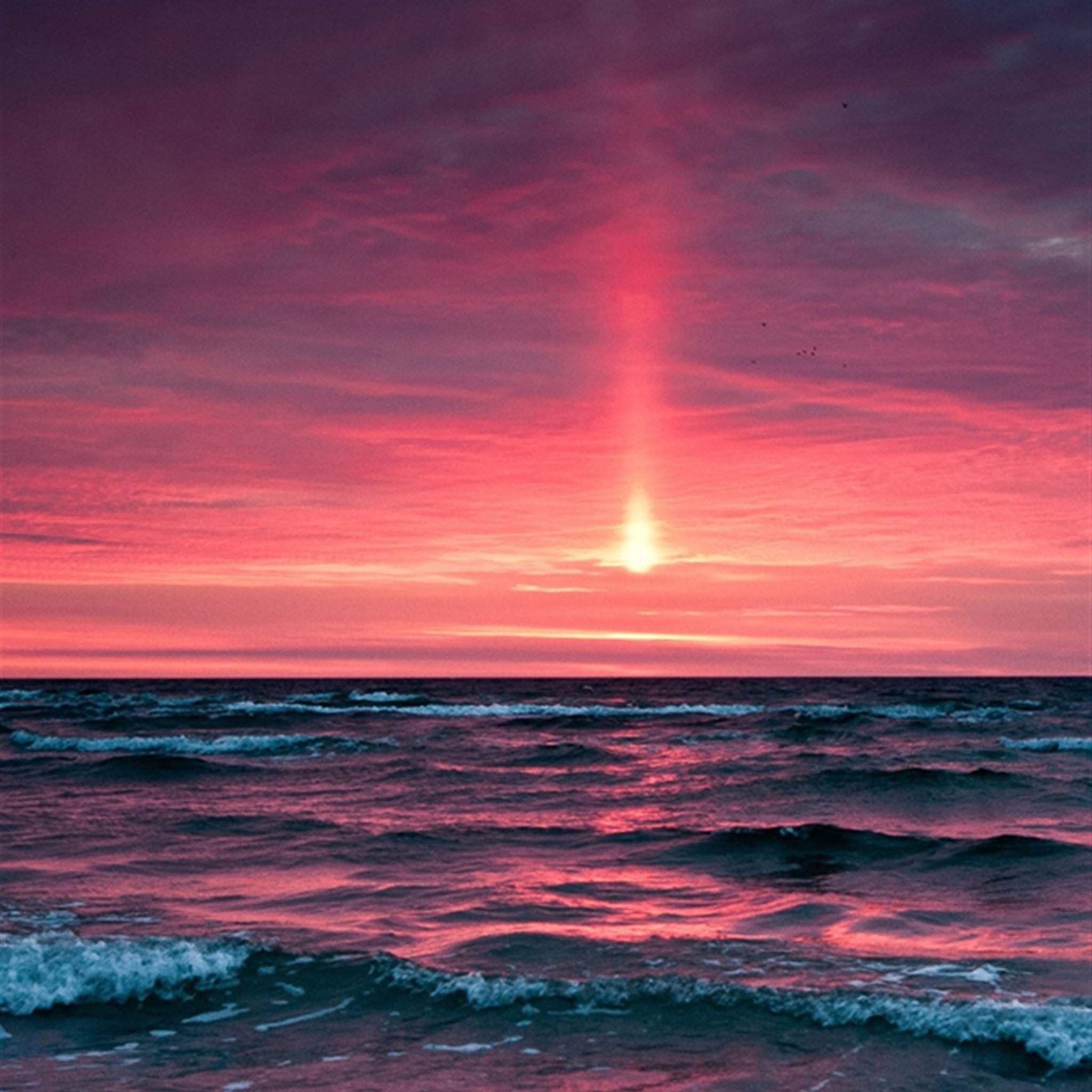 Fantasy Ocean Sunset Landscape IPhone Se Wallpaper