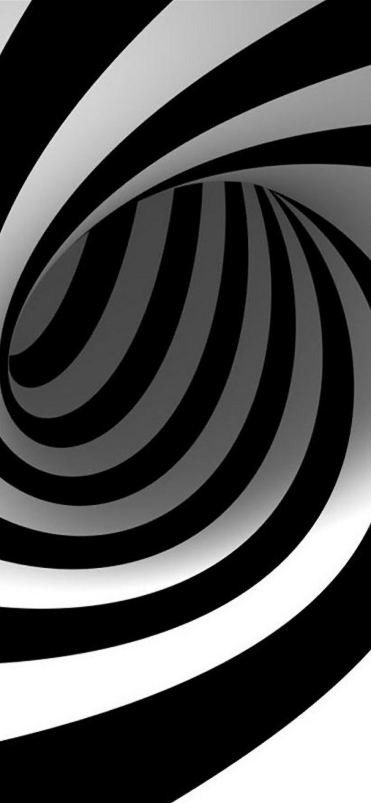 3D Abstract Swirl iPhone se wallpaper