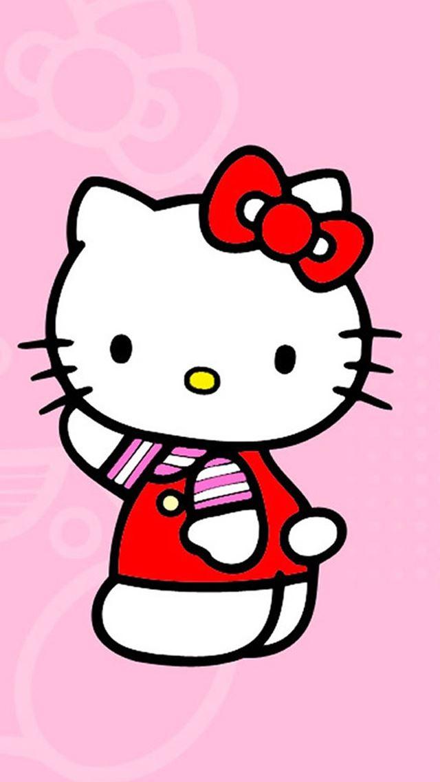 Hello Kitty Cartoon Iphone Se Wallpaper Download Iphone Wallpapers
