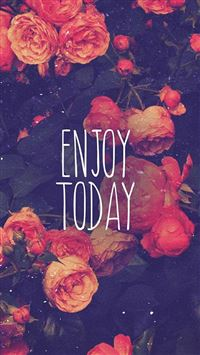 Enjoy Today Red Rose iPhone 5(s/c)~se wallpaper