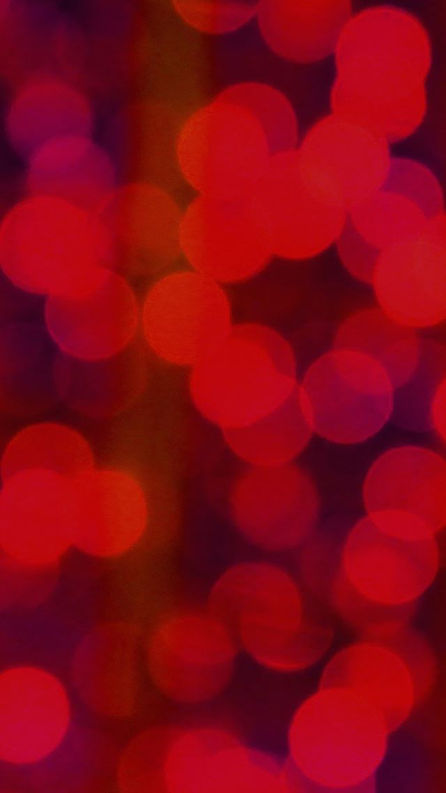 Red Bokeh Circle Abstract Pattern IPhone Se Wallpaper