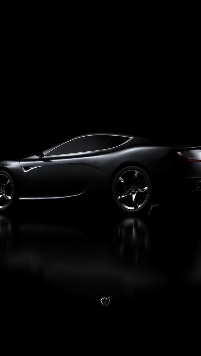 Aston Martin Black Car Dark Iphone Se Wallpaper Download Iphone