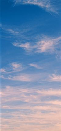 Sky Blue Cloud Nature Sunny Summer iPhone 5(s/c)~se wallpaper