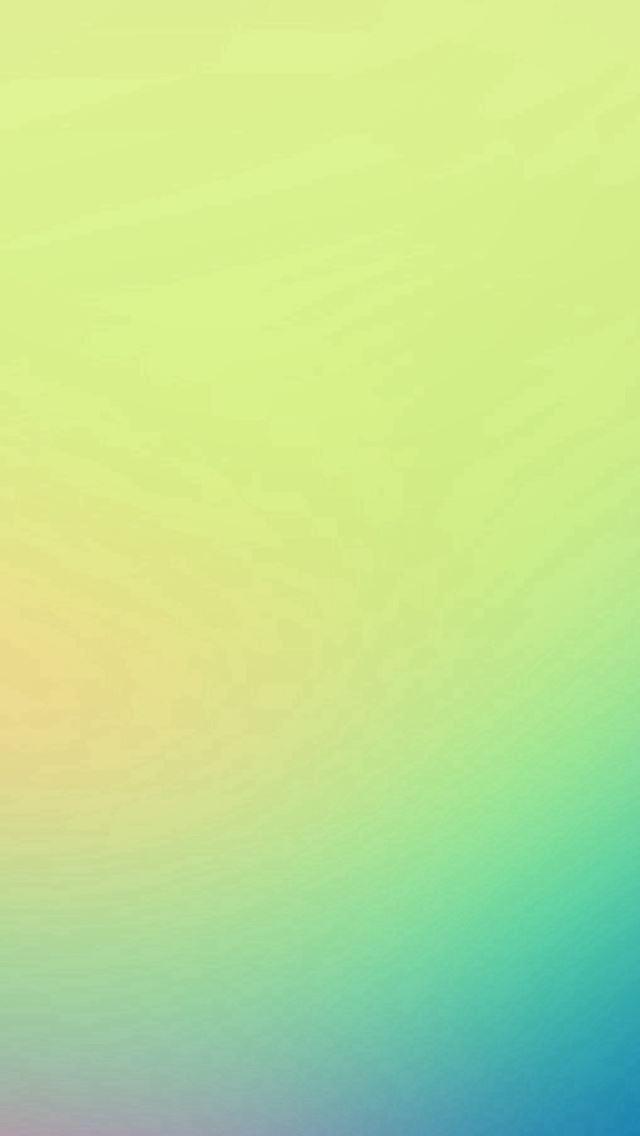 Morning Light Green Gradation Blur iPhone se wallpaper