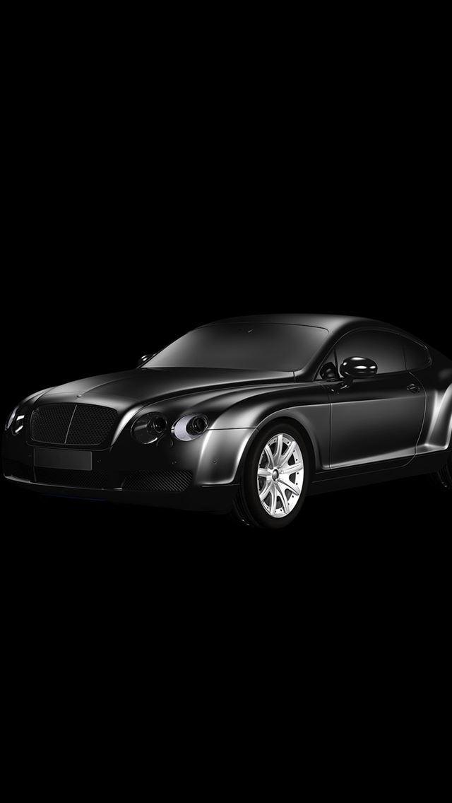 Car Bentley Dark Black Limousine Art Illustration Iphone Se