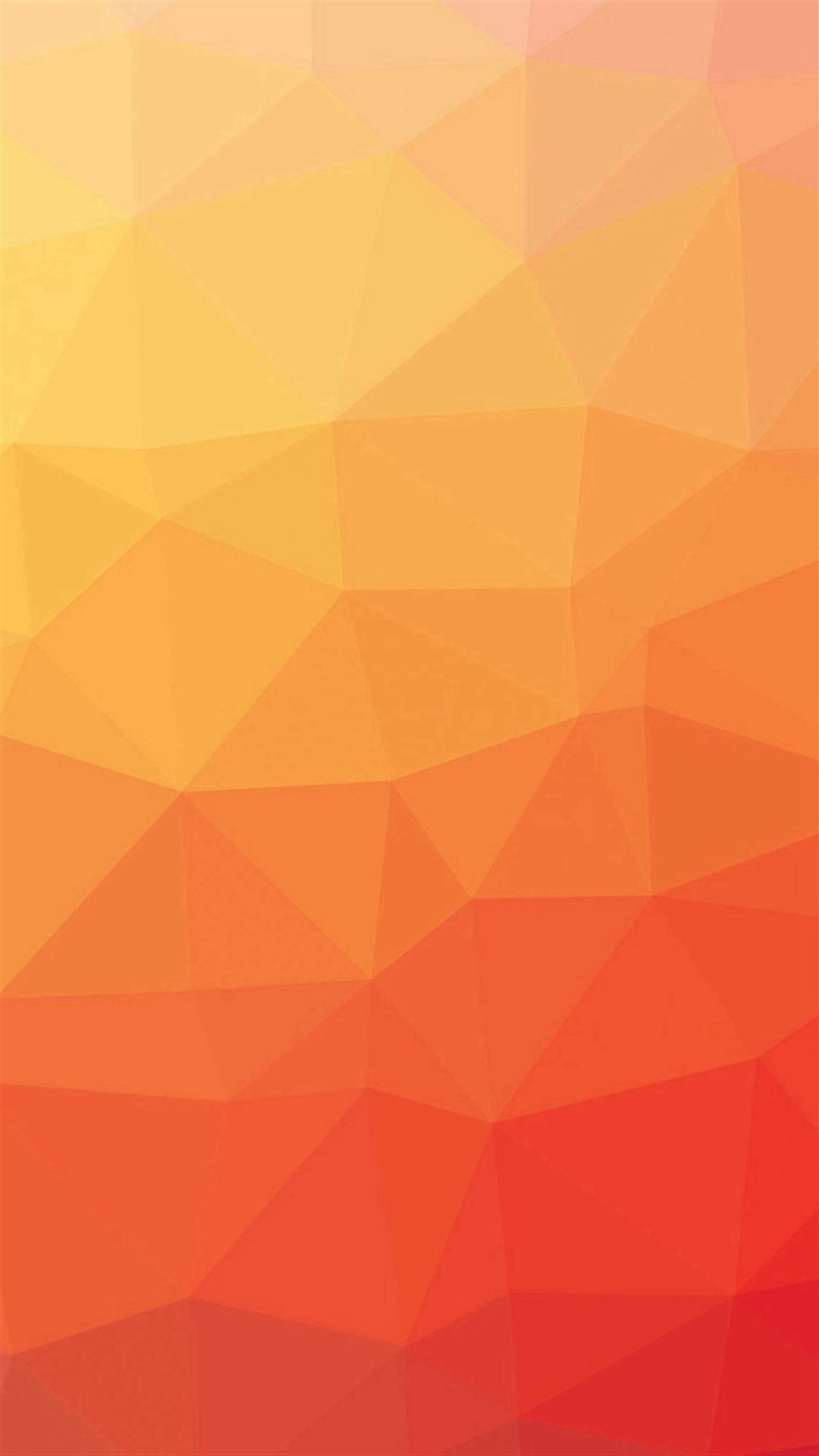 Red And Yellow Polygon Pattern Iphone Se Wallpaper Download Iphone