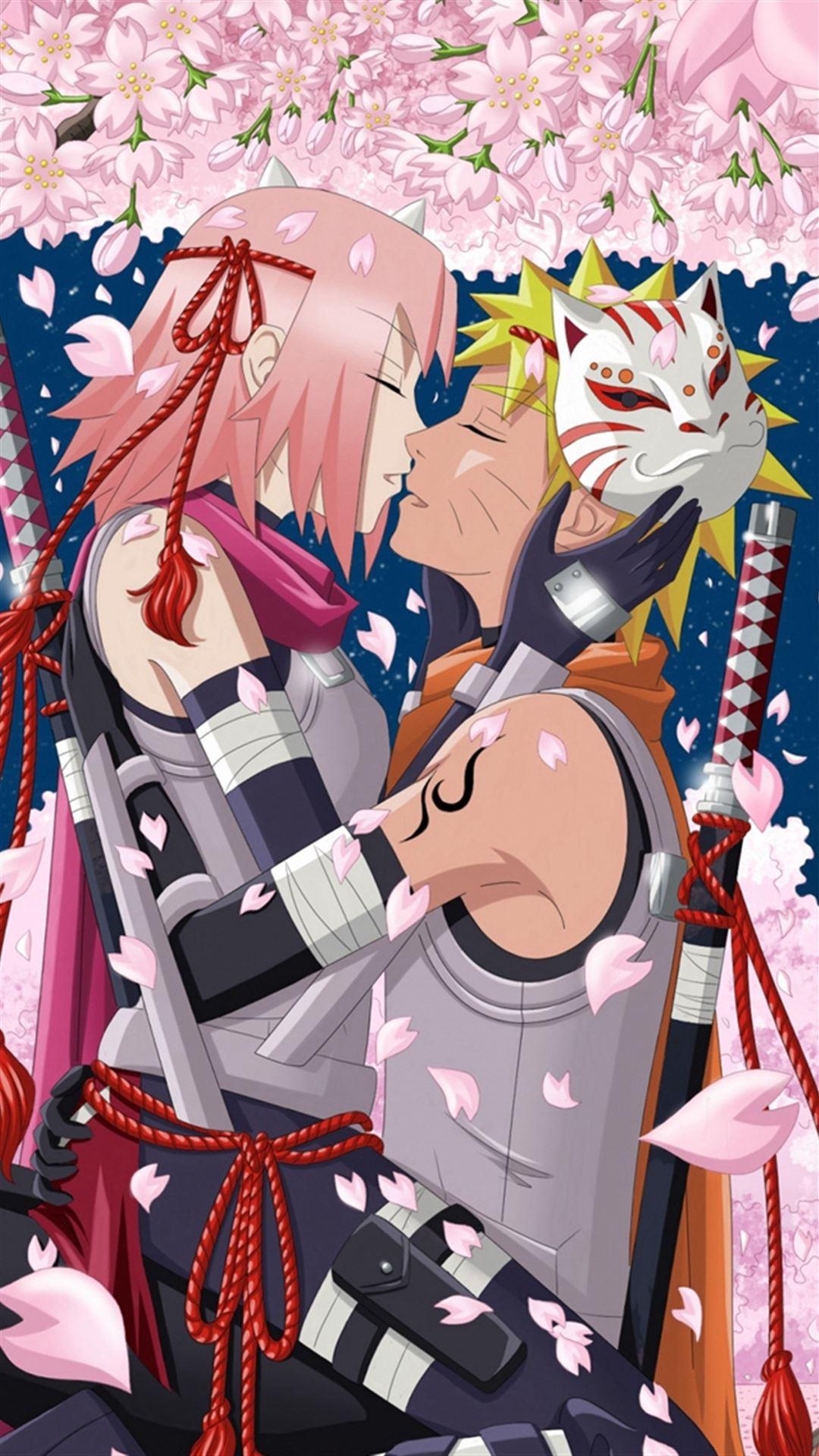 Art Hanabi Rin Anime Naruto Uzumaki Naruto Haruno Sakura Girl Man